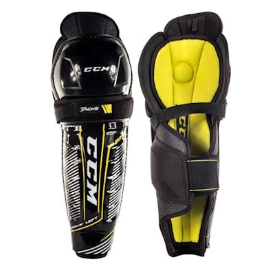 (CCM Tacks 9040 Hockey Shin Guards - Junior)