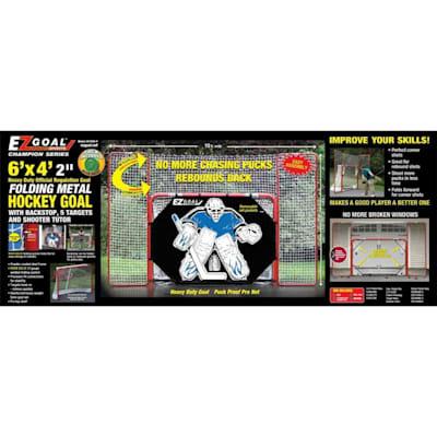 Box (Lightning Sports EZ Goal w/ Backstop & Shooter Tutor)