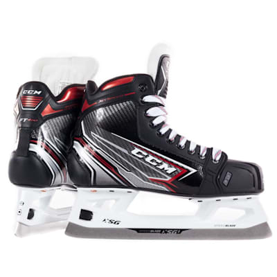 (CCM JetSpeed FT460 Ice Hockey Goalie Skate - Junior)