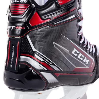 (CCM JetSpeed FT480 Ice Hockey Goalie Skates - Junior)