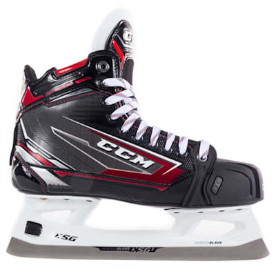 (CCM JetSpeed FT480 Ice Hockey Goalie Skates - Senior)