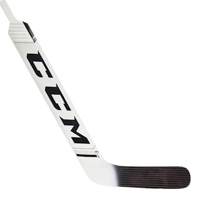 White/Black (CCM Extreme Flex 4.9 Foam Core Goalie Stick - Intermediate)