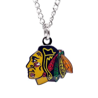 (Chicago Blackhawks Necklace)
