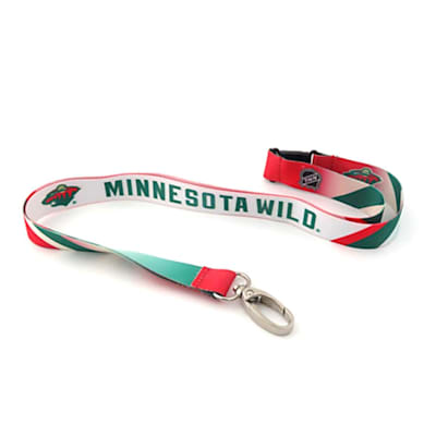 (Minnesota Wild Sublimated Lanyard)