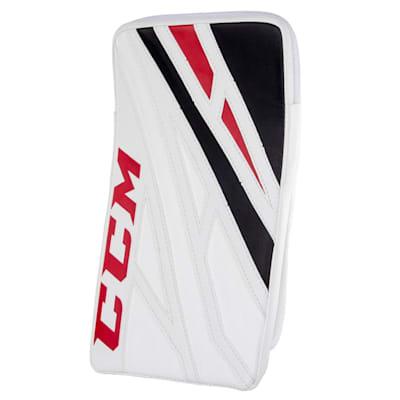 White/Black/Red (CCM Extreme Flex 4.5 Goalie Blocker - Junior)