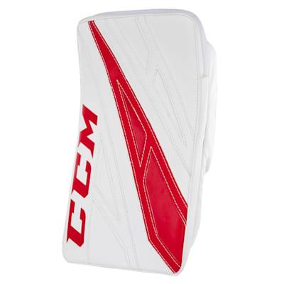 White/Red (CCM Extreme Flex 4.5 Goalie Blocker - Junior)