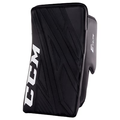 Black/Black (CCM Extreme Flex 4.9 Goalie Blocker - Intermediate)