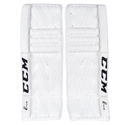 White/White (CCM Extreme Flex 4.5 Goalie Leg Pads - Junior)
