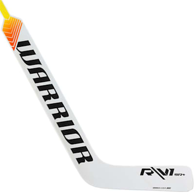 White/Black (Warrior Ritual V1 SR+ Composite Goalie Stick - Intermediate)