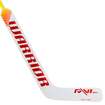 White/Red (Warrior Ritual V1 SR+ Composite Goalie Stick - Senior)