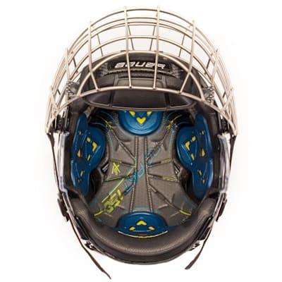 (Bauer Re-Akt 150 Combo Hockey Helmet)