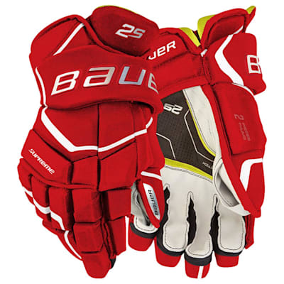 (Bauer Supreme 2S Hockey Gloves - Junior)