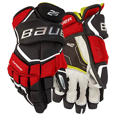 (Bauer Supreme 2S Hockey Gloves - Senior)
