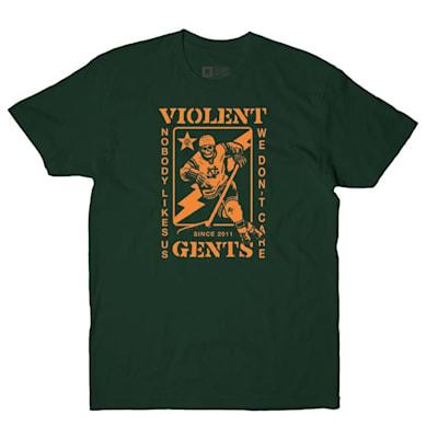 Forest Green (Violent Gentlemen Banger Tee - Adult)