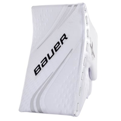 White/White (Bauer Vapor 2X Pro Goalie Blocker - Senior)