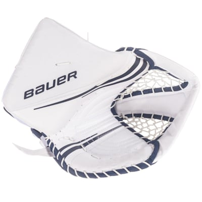 White/Navy (Bauer Vapor 2X Pro Goalie Catch Glove - Senior)