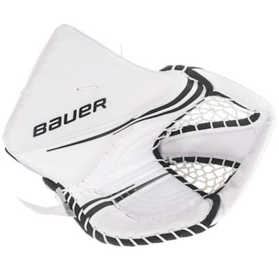 White/Black (Bauer Vapor 2X Pro Goalie Catch Glove - Senior)