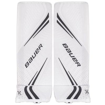 White/Black (Bauer Vapor 2X Pro Goalie Leg Pads - Senior)