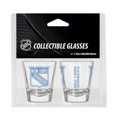 New York Rangers (2oz NHL Shot Glass 2-Pack - New York Rangers)