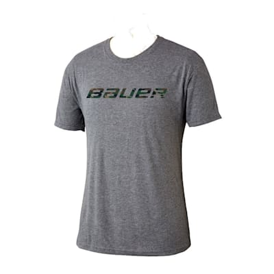 (Bauer Camo Logo Short Sleeve Tee Shirt - Adult)