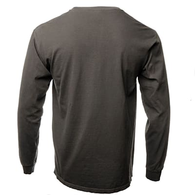 Back (Everyday Long Sleeve Tee Shirt Black - Adult)