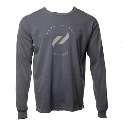 Front (Everyday Long Sleeve Tee Shirt Midnight - Adult)