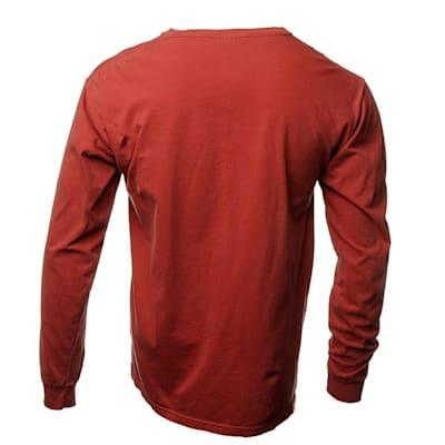 Back (Everyday Long Sleeve Tee Shirt Crimson - Adult)