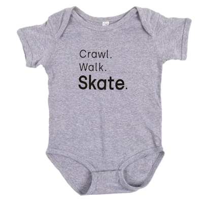 (Crawl. Walk. Skate. Baby Onesie - Toddler)