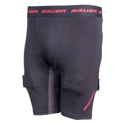 (Bauer S19 Essential Compression Jock Short - Boys)