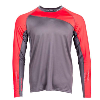 (Bauer S19 Pro Long Sleeve Base Layer Top - Youth)