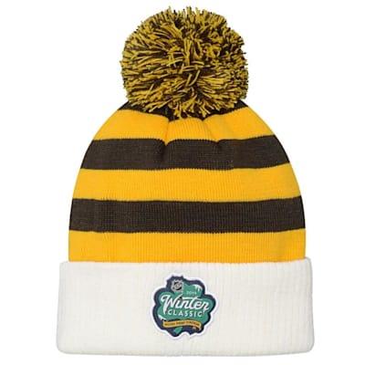 3b232a4953b Back (Adidas Boston Bruins 2019 Winter Classic Pom Knit Hat - Youth)