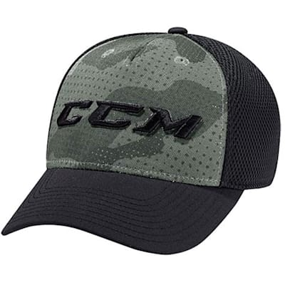 (CCM Grit Camo Structured Foam Mesh Flex Cap - Adult)