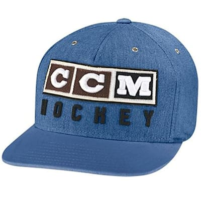 Federal Blue (CCM Classic Snapback Cap - Adult)