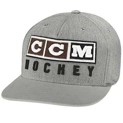 Light Grey (CCM Classic Snapback Cap - Adult)
