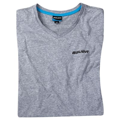 (Bauer Vintage V-Neck Short Sleeve Tee Shirt - Adult)