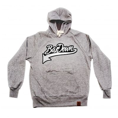Light Grey (BarDown Vintage Hoodie - Adult)