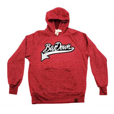 Red (BarDown Vintage Hoodie - Adult)