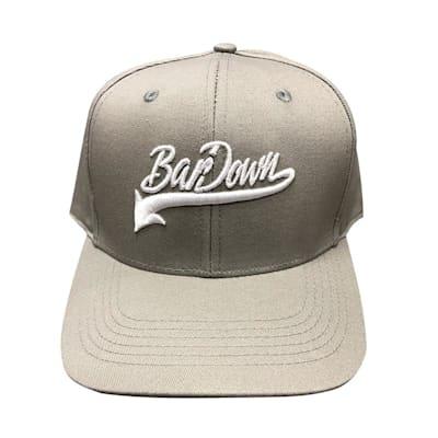 Grey (BarDown Vintage Snapback Cap - Adult)