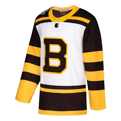 Front (Adidas Boston Bruins 2019 Winter Classic Authentic Jersey - Adult)