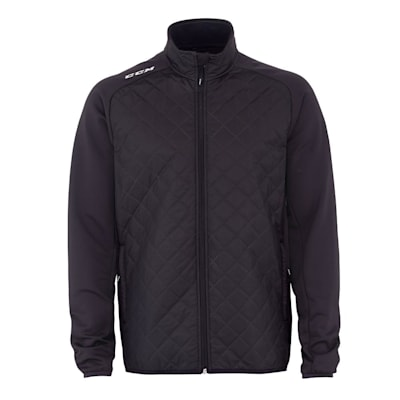 (CCM Team Quilted Jacket - Adult)
