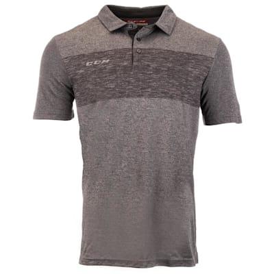 (CCM Heathered Polo Shirt - Adult)