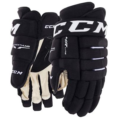 Black (CCM Tacks 4R Lite Hockey Gloves - Senior)