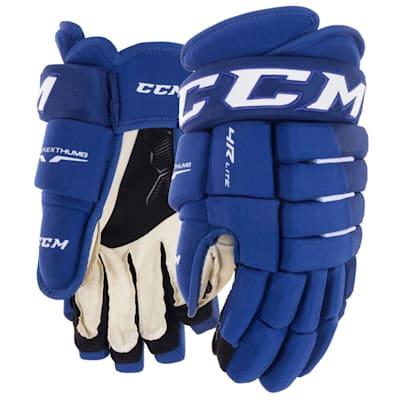 Royal (CCM Tacks 4R Lite Hockey Gloves - Senior)