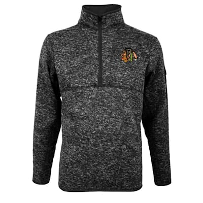 (Chicago Blackhawks Fortune 1/4 Zip - Adult)