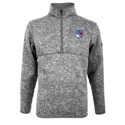 (New York Rangers Fortune 1/4 Zip - Adult)