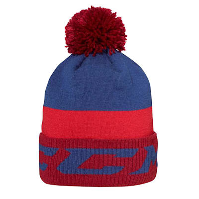 (CCM Chromatic Fleece Pom Knit Hat - Adult)