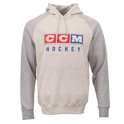 (CCM Classic Fleece Pullover Hoody - Adult)