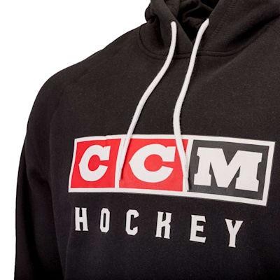 (CCM Classic Fleece Pullover Hoody - Adult)