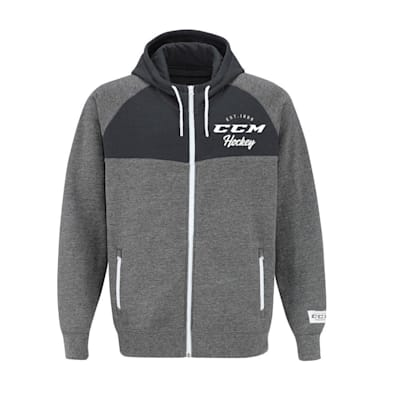 (CCM Academy Full Zip Fleece Hoody - Adult)