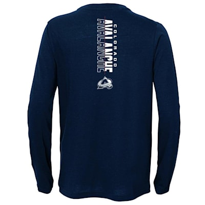 (Adidas Deliver A Hit Long Sleeve Tee - Colorado Avalanche - Youth)